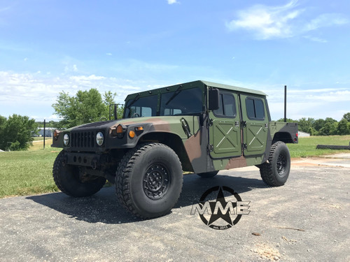 Humvee  4 Man 1/8'' Aluminum Hard Top and Fiberglass Door Kit