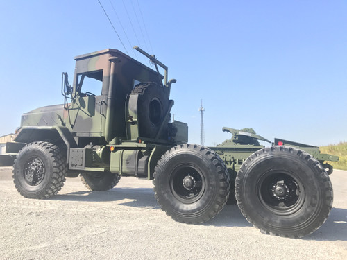 1991 BMY ROPS M931A2 MILITARY SEMI Truck 6X6