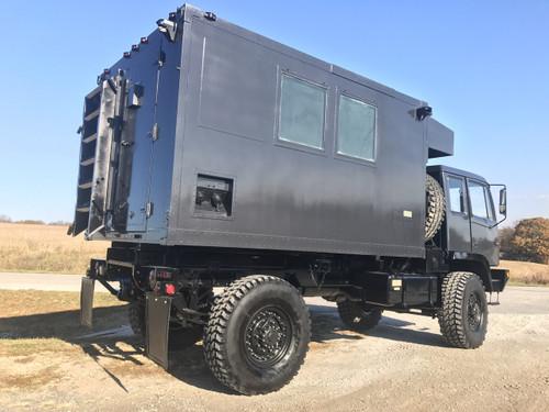 M1079 Stewart & Stevenson 4x4 2 1/2 Ton Camper Truck SOLD