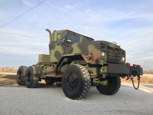 2011 Rebuild M932a2 Military 6x6 5 Ton Semi 20,000LB winch