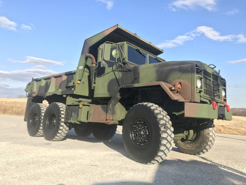2009 Rebuild M929A1 Am General  6x6 Dump Truck SOLD