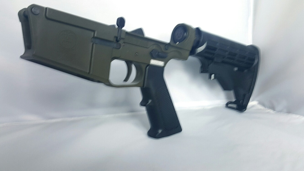 Rifle Green, matches Magpul Olive Drab