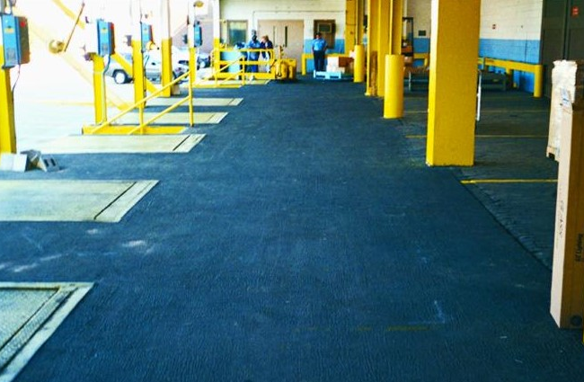 loading dock floor