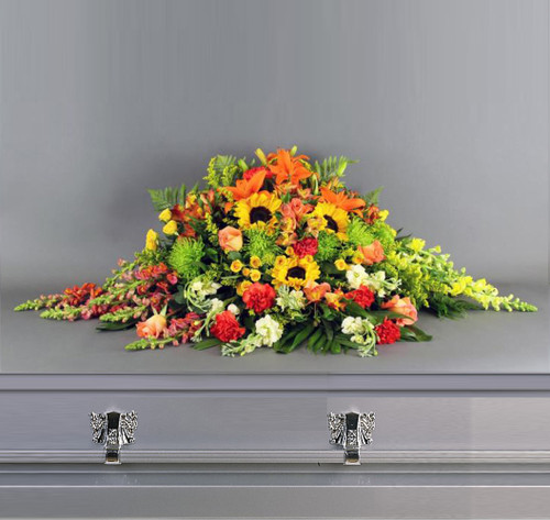 Fall Harvest Casket Spray-FNFH-01