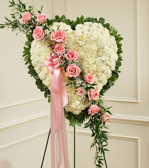 Pink and White Heart-FNSTH-02