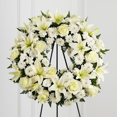 All White Wreath-FNFSW-01