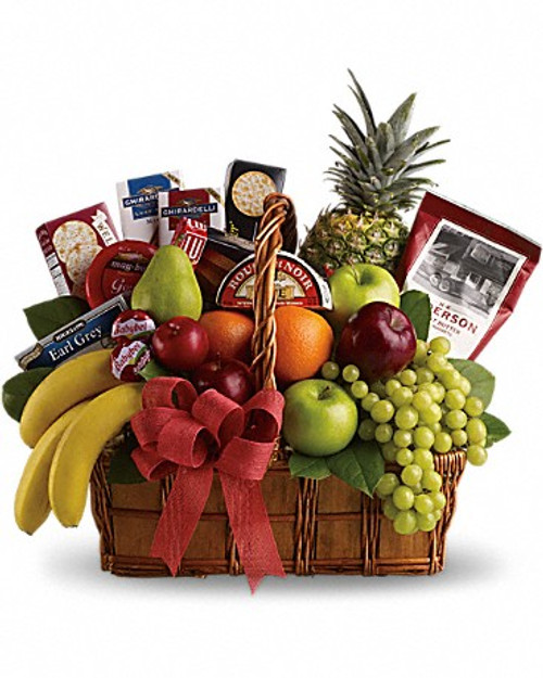Fruit & Gourmet Basket-FNFGB-01