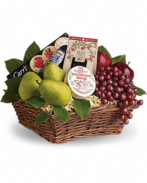 Fruit & Gourmet Basket-FNFGB-02
