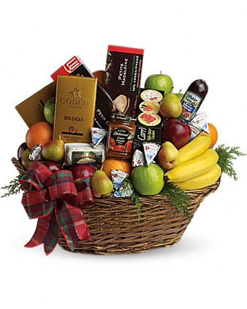 Fruit & Gourmet Basket-FNFGB-04