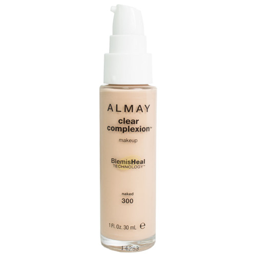 Almay Clear Complexion Liquid Makeup, Pump Top