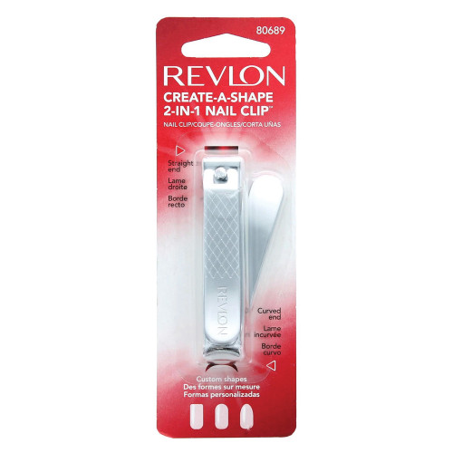 Revlon Create-A-Shape 2-in-1 Nail Clip
