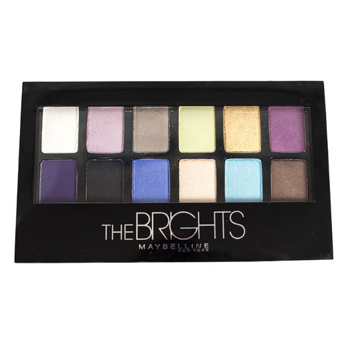 Maybelline 12-Pan Eyeshadow Palette - The Brights