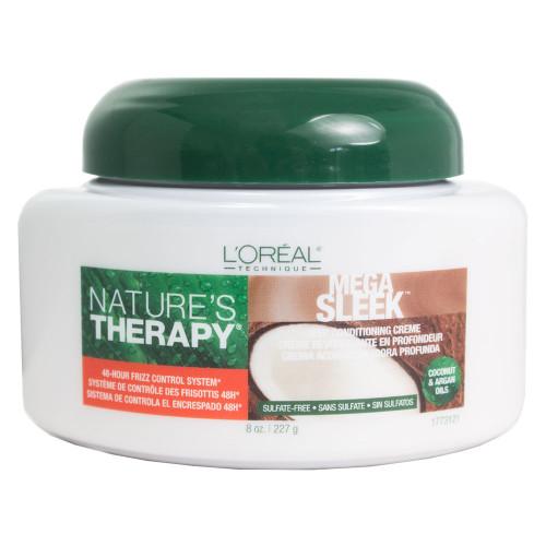 Loreal Nature's Therapy Mega Sleek Deep Conditioning Creme 8 oz