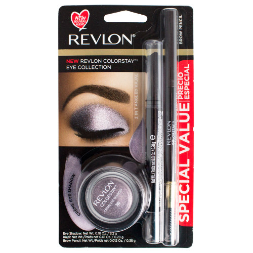 Revlon Colorstay Eye Collection 3-Piece Shadow & Liner Set - Lavender