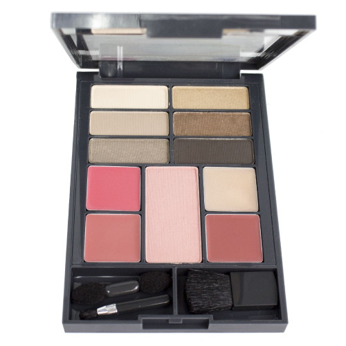 Almay The Complete Look Makeup Palette - 100 Light/Medium Skin Tones