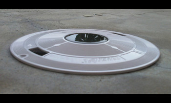 Savior Skimmer Lid Solar Skimmer Lid White Light