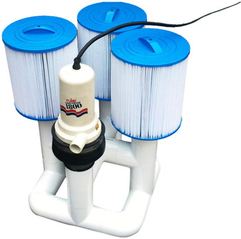 Bottom Feeder 1800 GPH Pool 110v Plugin Pump and Filter System