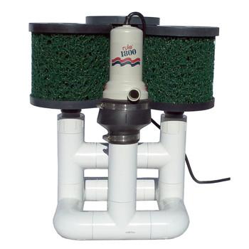 Bottom Feeder 1800 GPH Pond 110v Plugin Pump and Filter System