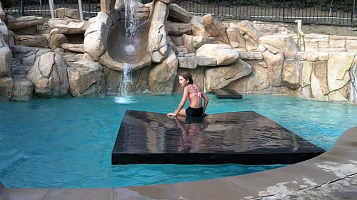 EVA FLOATING ISLAND WATER MAT and Workout Mat LG 1000 lbs.