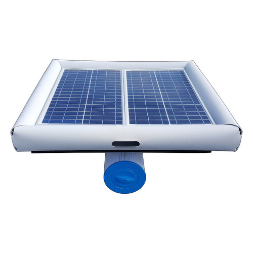 New Savior 70w Floating Solar Pool Pump and Filter Cleaner System OS