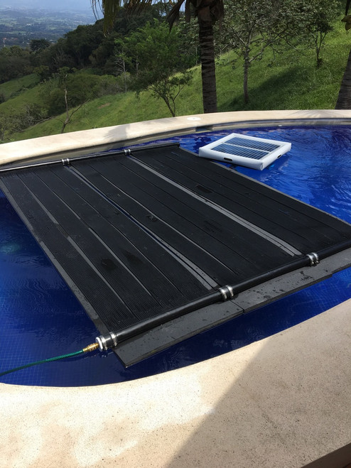 With our Savior Floating Solar Powered Pump and Filter System