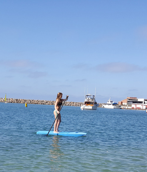 EVA SUP 6.0 Boo Stand Up Paddle Board - Blue