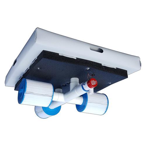 Savior Ozone Aerator Pump Filter Pool Spa Pond 10000 Gallon 60-watt Solar Powered System