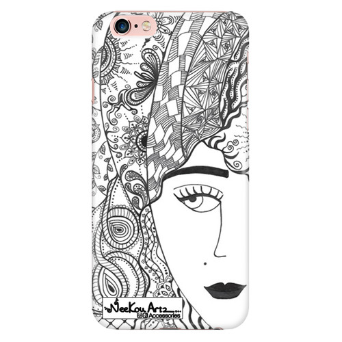 Exotic girl iphone case