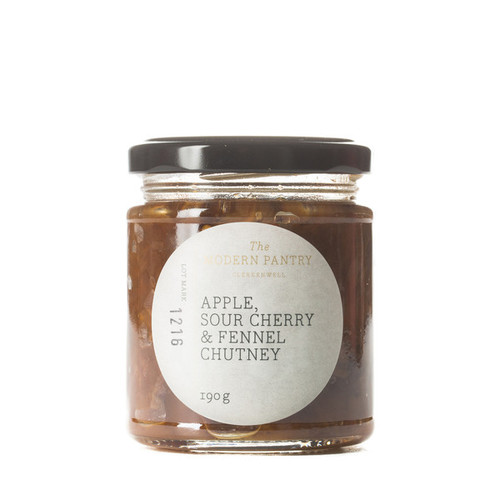 Apple, Sour Cherry & Fennel Chutney