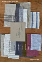 Linen Fabric Swatches