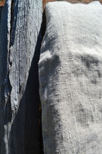 Natural Rustic Rough Heavy Weight Linen Quilt Cover / All sizes