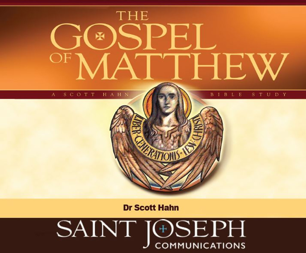 The Gospel Of Matthew - Dr Scott Hahn - St Joseph Communications (12 CD Set)