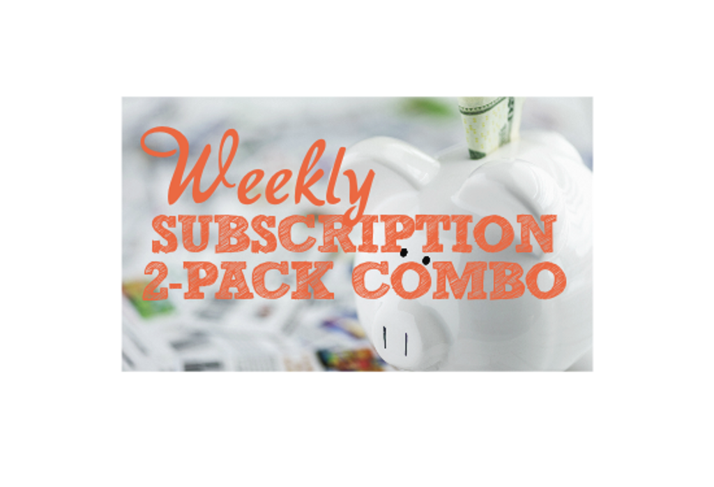 Weekly Subscription - 2 Pack Combo