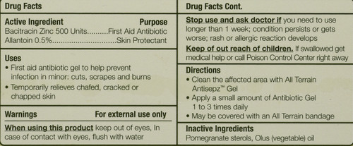 Antibiotic Gel             0.5 Fl oz 15 Ml