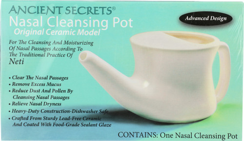 Nasal Cleansing Pot Ceramic