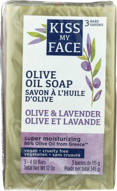 Olive & Lavender 3 Pack Bar Soap