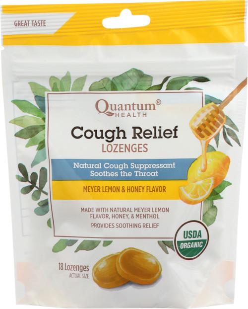 Cough Relief Meyer Lemon & Honey Lozenges Meyer Lemon & Honey