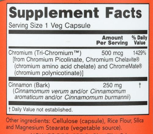 Tri-Chromium™ 500 mcg with Cinnamon - 90 Vcaps®
