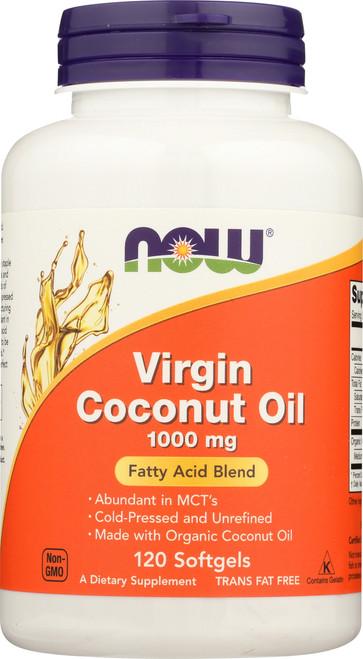 Virgin Coconut Oil 1000 mg - 120 Softgels