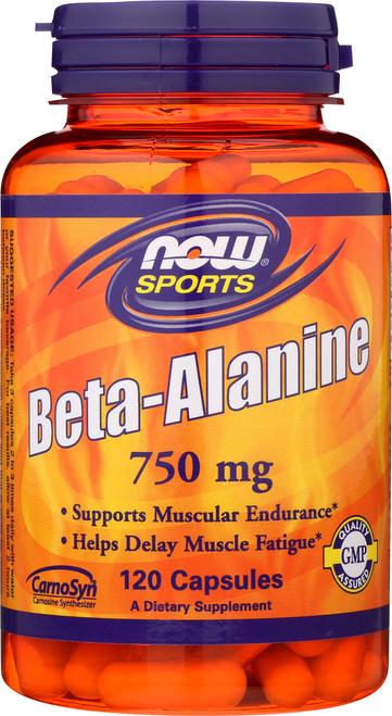 Beta-Alanine 750 mg - 120 Capsules