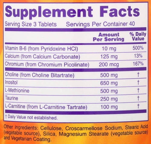 LipoTrim - 120 Tablets
