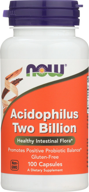 Acidophilus Two Billion - 100 Capsules