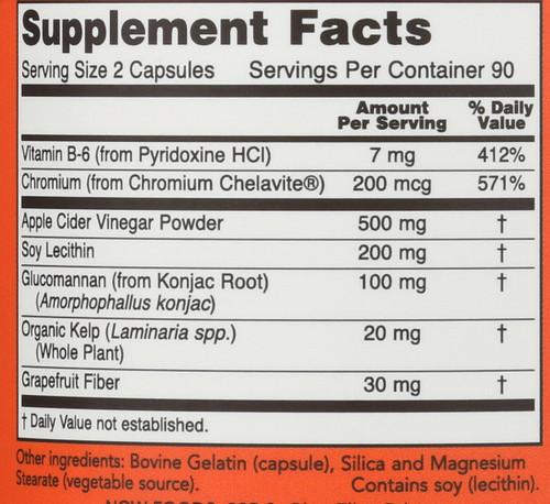 Cider Vinegar Diet Formula - 180 Capsules