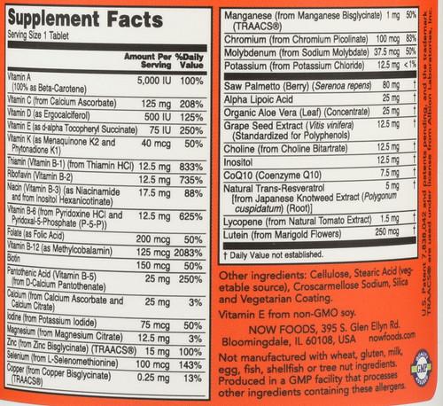 ADAM™ Superior Men's Multiple Vitamin - 120 Tablets