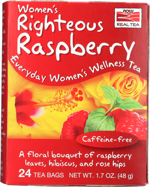 Women's Righteous Raspberry Tea - 24 Tea Bags