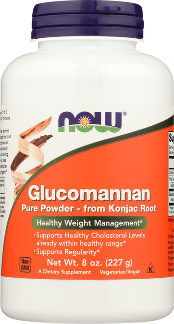 Glucomannan Pure Powder - 8 oz.