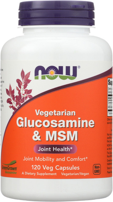 Glucosamine & MSM - 120 Vcaps®