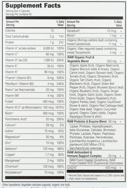 Vitamin Code 50 & Wiser Men's Multi  240 Capsules