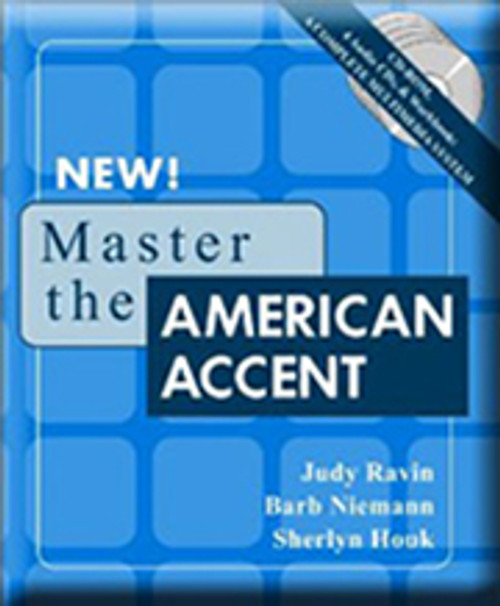 Accent reduction system: Master the American Accent - shows you thousands of techniques to reduce your accent and improve your American pronunciation