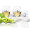 Stemless Wine Tumbler  (Set of 4) : Wild Game